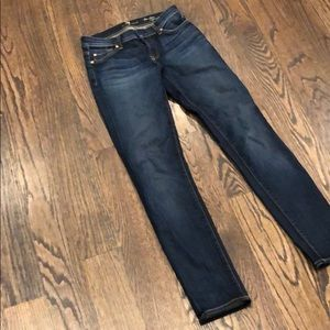 7 for all mankind size 25 cigarette jeans